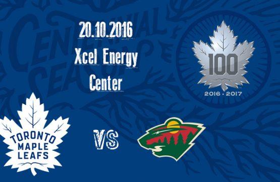 Leafs hrají na ledě Minnesoty
