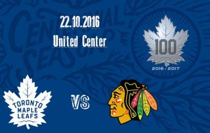 Leafs hrají na ledě Chicaga