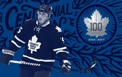 Tomáš Kaberle byl vybraný mezi stovku největších hráčů Maple Leafs