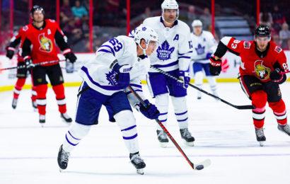 Leafs vyhráli s Ottawou také podruhé