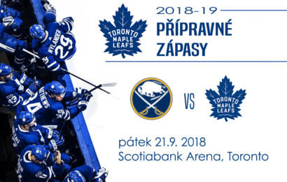Maple Leafs dnes večer poprvé v přípravě na domácím ledě