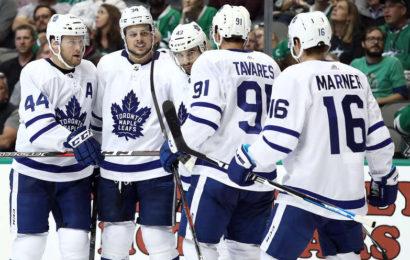 Ofenzíva dovedla Maple Leafs také k výhře v Dallasu
