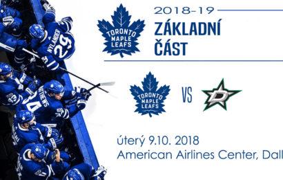 Toronto hraje dnes večer v Dallasu