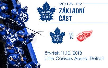Leafs se valí na Detroit