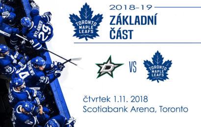 Ukončí Leafs v zápase s Dallasem domácí trápení?