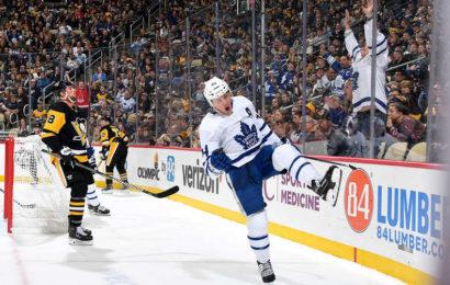 Zápas venku pro Leafs opět vítězný