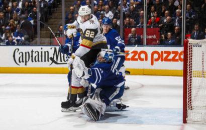 Andersen vychytal výhru Leafs proti Vegas