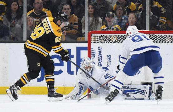 Leafs nestačili na Boston a prohráli první zápas venku