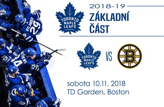 Velmi očekávaný zápas je tu. Leafs hrají na ledě Bruins