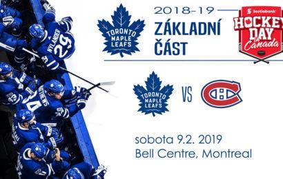 Leafs proti Canadiens v sobotní klasice