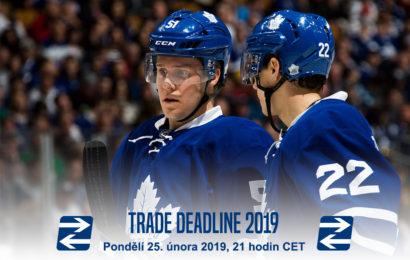 Jak Leafs přistoupí k uzávěrce výměn?