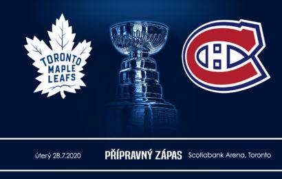 Leafs se vrací po dlouhé pauze na led. Hraje se příprava s Montrealem