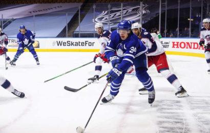 Trápení Maple Leafs v zápase číslo 1