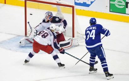 Maple Leafs uspěli v zápase číslo 2 a srovnali stav série na 1-1