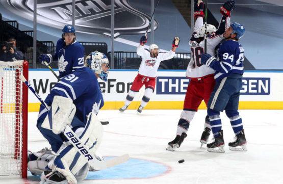 Porážka v pátém zápase ukončuje sezonu Maple Leafs