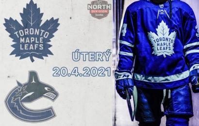 Maple Leafs mají Vancouveru co vracet