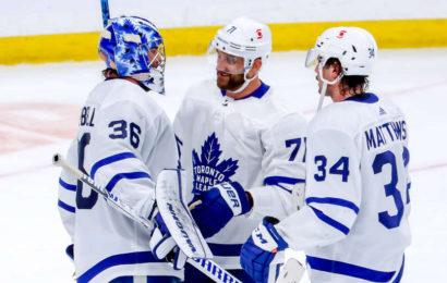První útok dovedl Leafs k výhře ve Winnipegu