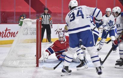 Leafs vyhráli na ledě Montrealu a zajistili si postup do playoff