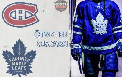 Leafs hrají s Canadiens