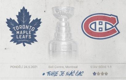 Maple Leafs hrají v Montrealu třetí zápas série