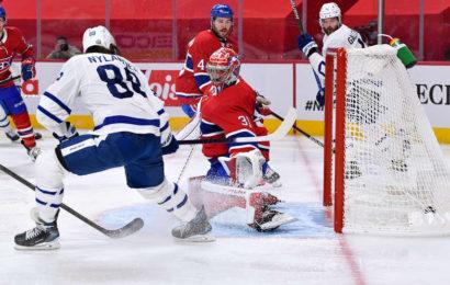 Maple Leafs se vrací z Montrealu s vedením 3-1 v sérii