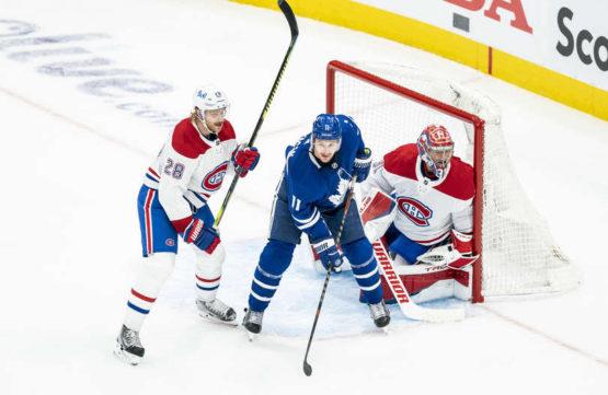 Maple Leafs prohráli v prodloužení. Série se vrací do Montrealu