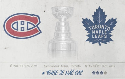 Maple Leafs blízko postupu. Hraje se zápas číslo 5