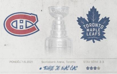 Hokejový bohové prosím Vás dejte Torontu dnes večer výhru