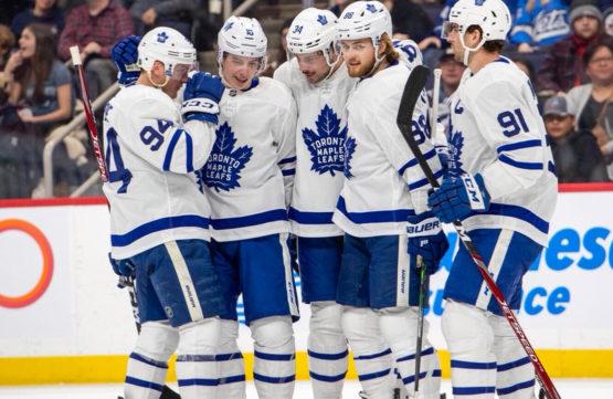 Útok Maple Leafs ukazuje své schopnosti