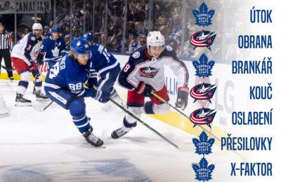 Preview kvalifikačního kola playoff 2020. Leafs se utkají s Blue Jackets
