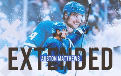 Auston Matthews podepsal novou smlouvu!